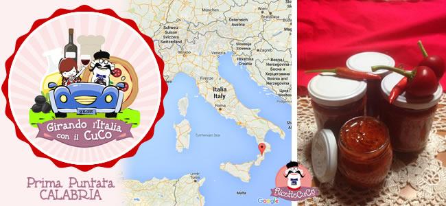 bomba calabrese piccantino assunta moulinex cuisine companion ricette cuco piatti tipici tradizione italiana girando l'italia con il cuco