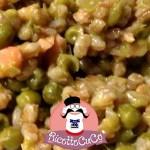 Farrotto con Piselli e Salmone affumicato con il Cuisine Companion