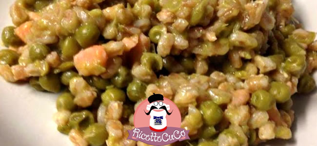 farrotto con piselli e salmone cuisine companion moulinex bimby ricette bimby