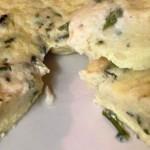 Frittata al vapore con Asparagi selvatici e Grana Padano con il Cuisine Companion