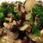 Funghi misti trifolati: pioppini (chiodini) e champignon con il Cuisine Companion