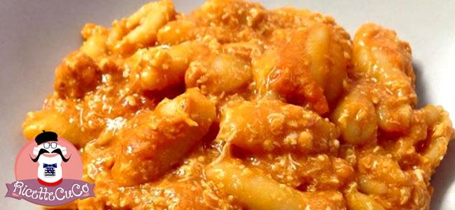 Gnocchetti sardi al ragù di pollo con il Cuisine Companion