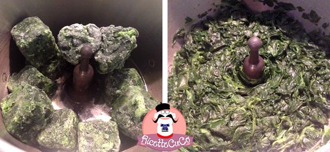 Spinaci surgelati: come cuocerli nel Cuisine Companion ricettecuco cuco bimby