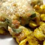 Straccetti di Pollo alla spagnola con Tortino Primavera con il Cuisine Companion