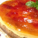 Cheesecake cotta allo Yogurt con Albicocca e Fragola su base integrale con il Cuisine Companion