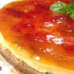 Cheesecake cotta allo Yogurt con Albicocca e Fragola su base integrale con il Cuisine Companion