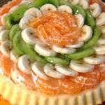 Crostata Morbida con Crema Pasticcera e Frutta di stagione. Ricetta di Maura Pili. Con il Cuisine Companion