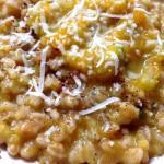 Farrotto con Zucca Gialla, Zucchine e Patate con il Cuisine Companion