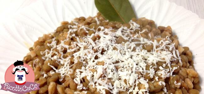 farrotto lenticchie ricotta pecora bio svezzamento bambini moulinex cuisine companion ricette cuco 3