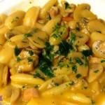 Gnocchetti risottati con Speck, Funghi champignon e Carote con il Cuisine Companion
