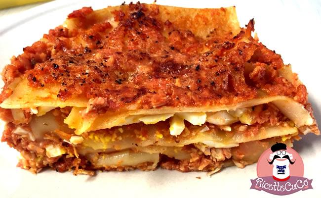 lasagna veloce ragu carne bambini bimbi svezzamento pappe monsier cuisine moncu moulinex cuisine companion ricette cuco bimby 5
