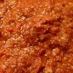 Ragù di Carne di Tacchino (fesa) con il Cuisine Companion