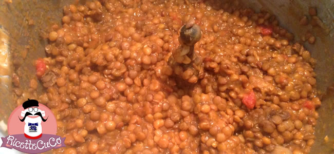 lenticchie secche moulinex cuisine companion ricette cuco