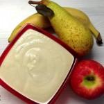 Yogurt e Frutta fresca merenda veloce e sana per bambini con il Cuisine Companion