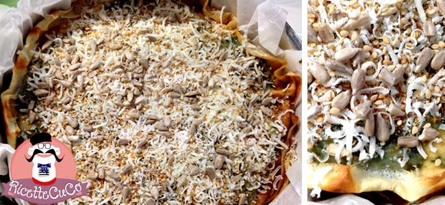 millefoglie crepes crespelle salate spinace funghi porcini silani sesamo girasole moulinex cuisine companion ricette cuco