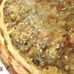 Crepes salate Millefoglie con Zucchine, Funghi champignon e Semi di Sesamo con il Cuisine Companion