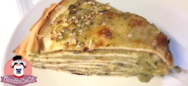 millefoglie crepes salate semola funghi champignon sesamo zucchine bambini bimbi svezzamento pappe monsier cuisine moncu moulinex cuisine companion ricette cuco bimby 5