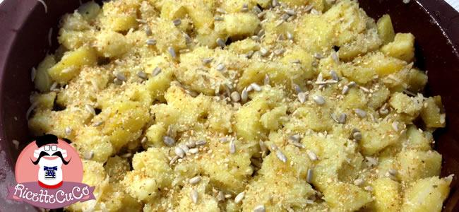 patate gratinate sesamo girasole microonde monsier cuisine moncu moulinex cuisine companion ricette cuco bimby 2