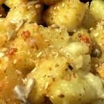 Patate gratinate con Semi di Sesamo e Girasole con il Cuisine Companion