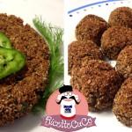 Polpette di Melanzane al forno con il Cuisine Companion (oppure cotolette o hamburger)
