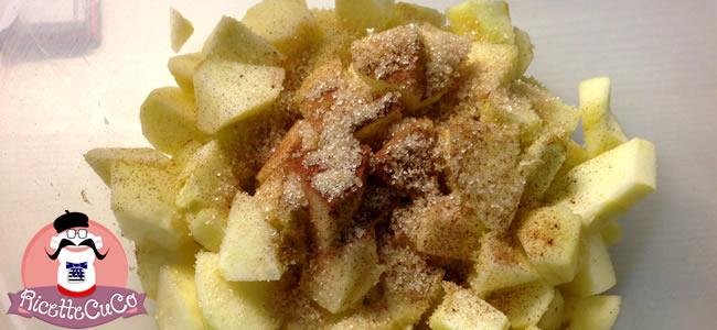 torta mele veloce senza burro 10 cucchiai bambini bimbi svezzamento pappe monsier cuisine moncu moulinex cuisine companion ricette cuco bimby 4