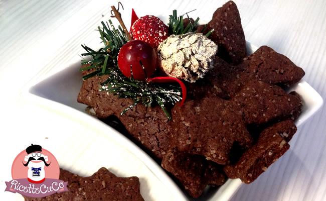 biscotti cacao frolla senza burro natale secondo microonde monsier cuisine moncu moulinex cuisine companion ricette cuco bimby