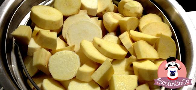 confettura patate dolci miele vaniglia cannella zenzero natale marmellata microonde monsier cuisine moncu moulinex cuisine companion ricette cuco bimby
