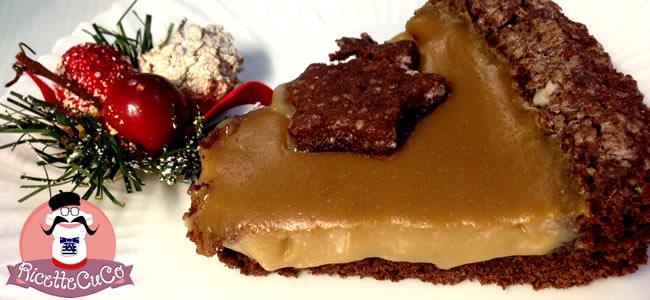 crostata cacao cioccolato crema caffe orzo frolla senza burro natale secondo microonde monsier cuisine moncu moulinex cuisine companion ricette cuco bimby