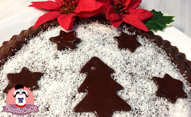 Crostata Morbida al Cioccolato e Cocco con il Cuisine Companion