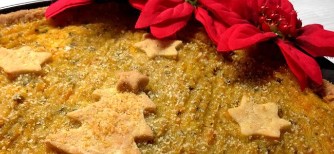 torta salatas quiche zucca gialla verza patate crescenza natale microonde monsier cuisine moncu moulinex cuisine companion ricette cuco bimby