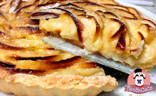 Torta alle Mele strepitosa: Apple Cake con il Cuisine Companion apple cake american torta di mele americana crema microonde monsier cuisine moncu moulinex cuisine companion ricette cuco bimby
