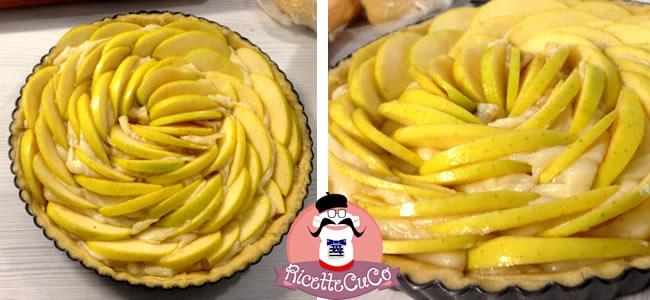 apple cake american torta di mele americana crema microonde monsier cuisine moncu moulinex cuisine companion ricette cuco bimby