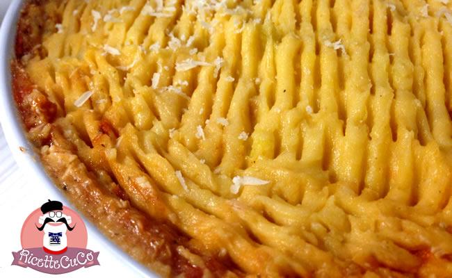 cottage pie riciclo carne cotta microonde monsier cuisine moncu moulinex cuisine companion ricette cuco bimby