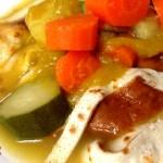 Crepes salate in Brodo con il Cuisine Companion