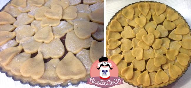 crostata pasticciotto cioccolato classica marmellata senza burro olio light microonde monsier cuisine moncu moulinex cuisine companion ricette cuco bimby 6