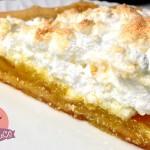 Torta al Limone Meringata, Lemon Meringue Pie, ricetta originale classico anglo-americano con il Cuisine Companion