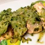 Salmone fresco e Zucchine: un piatto delizioso e veloce per piccoli buongustai