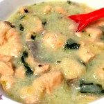 Bocconcini di salmone fresco con crema di patate