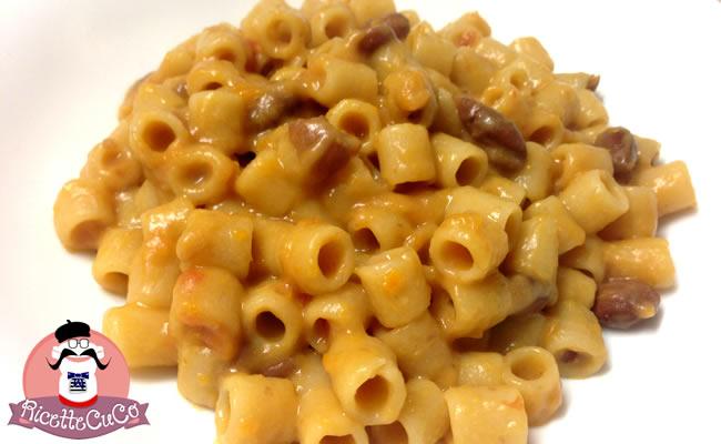 Pasta e Fagioli con il Cuisine Companion pasta fagioli borlotti microonde monsier cuisine moncu moulinex cuisine companion ricette cuco bimby