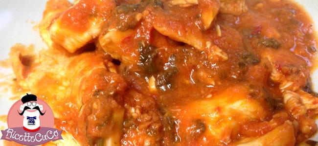 pollo ruspante carne pizzaiola bambini alimentazione svezzamento microonde monsier cuisine moncu moulinex cuisine companion ricette cuco bimby