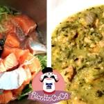 Salmone fresco e Zucchine con il Cuisine Companion