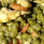 Spezzatino di Pollo e Piselli con il Cuisine Companion