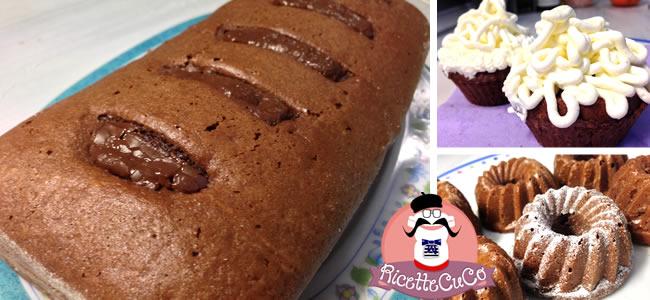 torta 7 vasetti cioccolato plumcake cupcakes tortina ciambelline microonde monsier cuisine moncu moulinex cuisine companion ricette cuco bimby