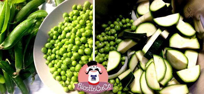 contorno zuppa farro piselli freschi surgelati zucchine svezzamento bambini monsieur cuisine moncu moulinex cuisine companion ricette cuco bimby