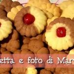 Biscotti con frolla montata (per sparabiscotti) di Marilena Mais