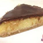 Cheesecake (falsa) Torta fredda Cocco e Cioccolato tipo Bounty con il Cuisine Companion