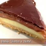 Cheesecake (falsa) Torta fredda Giorno e Notte: un dolce alla vaniglia e al cioccolato semplice semplice