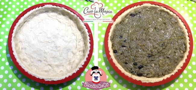 crostata salata iceberg cipolle olive crea la magia monsieur cuisine moulinex cuisine companion ricette cuco bimby ricettecuco