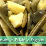 Insalata di patate e fagiolini (piattoni) al Cuisine Companion