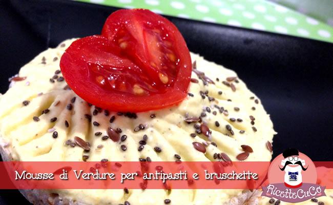 mousse verdure antipasti bruschette frullatore immersione minipimer microonde monsieur cuisine moncu moulinex cuisine companion ricette cuco bimby
